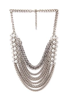 Western-Inspired Chain Necklace #Accessories