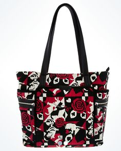 Just a few days ago we not only had the news that there was a new Alice In Wonderland Vera Bradley Collection coming our way but we also spotted a few Disney Handbags, Disney Purse, Vera Bradley Patterns, Tommy Hilfiger Bags, Fashion Face, Fashion Handbags, Alice In Wonderland, Diaper Bag, Purses And Bags
