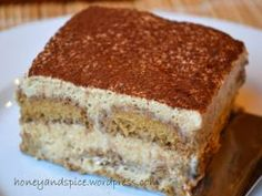 THE Best Gluten- & Dairy-Free Tiramisu Ever! (refined sugar-, soy-, gum-free) – Honey and Spice Gluten Free Deserts, Gluten Free Sweets, Gluten Free Baking, Vegan Desserts, Dessert Healthy, Health Desserts, Healthy Meals, Healthy Food, Allergy Free Recipes