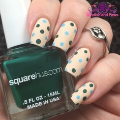 Nail Art: Square Hue ~ Hike Banff Adventure Collection