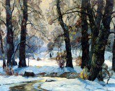 john fabian carlson winterlandscape | by ingrid bergman1