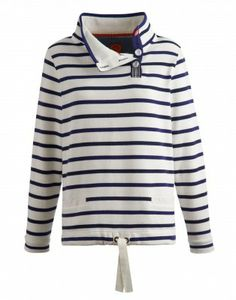 78d14d491858 Joules Harkaway Womens Relaxed Fit Sweatshirt - Navy Stripe by Joules  Clothing. Otterburn Mill
