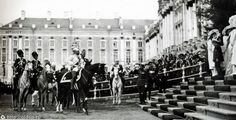 Nicholas II and Prince Friedrich Wilhelm. Tsarskoye Selo May 4, 1911.