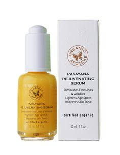 Organic Apoteke 30ml Rasayana rejuvenating serum Organic Apoteke rasayana rejuvenating serum draws upon natures most potent anti-aging extracts to diminish fine lines and wrinkles, lighten age spots and improve skin tone and texture. Suitable for al http://www.comparestoreprices.co.uk/health-and-beauty/organic-apoteke-30ml-rasayana-rejuvenating-serum.asp