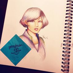 First day back from winter break! And boy was it brutal -_- #art #anime #manga #coloredpencil #drawing #sketch #doodle #portrait
