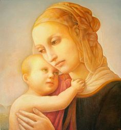 madonna and child painting - Google Search