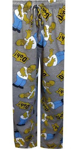 Homer Simpson Doh Big and Tall Lounge Pants