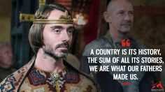 The Last Kingdom Quotes - MagicalQuote Bbc Tv Series, Series Movies, The White Princess, White Queen, Uhtred Of Bebbanburg, Sherlock Holmes Stories, Alfred The Great, Viking Quotes, Most Famous Quotes