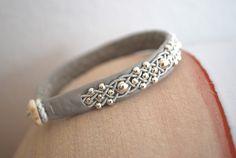 Samiarmband mit Silberkugeln von Passion for Sapmi