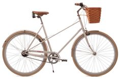 i want a bike just like this one...basket and all!