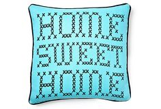This is so cute! I'm mixing and matching my throw pillows so I got one in hot pink and aqua.