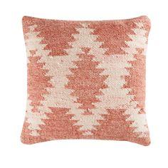 Kissen aus Wolle und Baumwolle mit Jacquardmuster 45x45 | Maisons du Monde