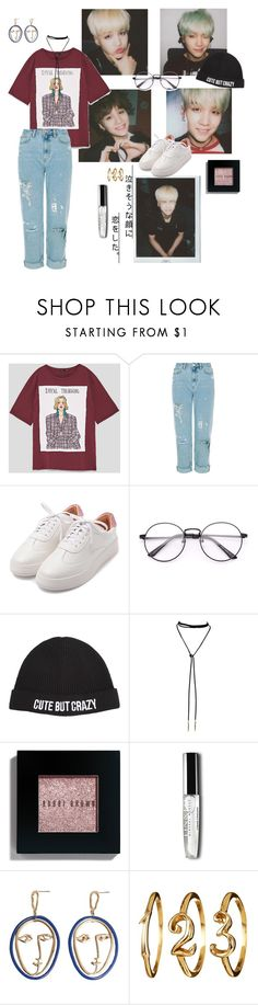 """""""Untitled #574"""" by huimanguicheonsa ❤ liked on Polyvore featuring Chiara Ferragni, Bobbi Brown Cosmetics and MANGO"""