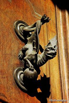 Rome, Italy. I love this door knob.
