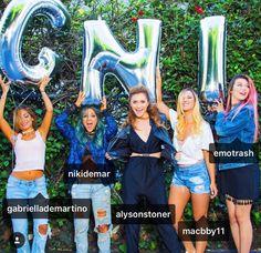Jessie Paege, Alisha Marie, Alyson Stoner, Niki & Gabi, Fullscreen, YouTubers