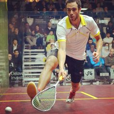 World squash number one Ramy Ashour