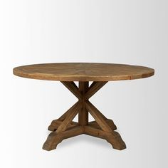 """Bleached Pine Table 58"""" $1899"""