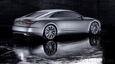 Концепт Audi Prologue / Ауди Пролог – вид сзади