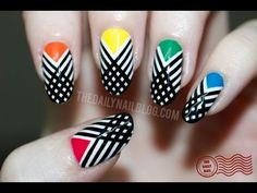 Have I Crossed the Line?  Nailart