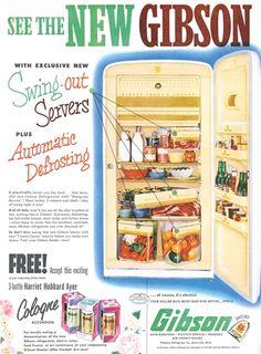9 Best Gibson Refrigerator images in 2016 | Vintage kitchen