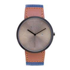 Montre homme, acier, nylon, cuir, 0.00g, Style tendance - Manège à Bijoux