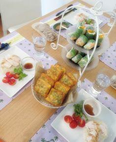 エスニック風「アフタヌーンティーパーティー」 by しぶちえシェフ / #food #party