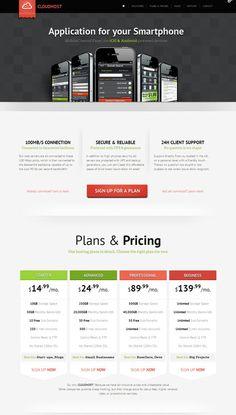 CloudHost Responsive WordPress Web Hosting Theme