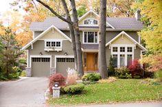 craftsman exterior by David Small Designs