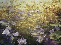 Leanne Christie  Waterlily Golden Pond