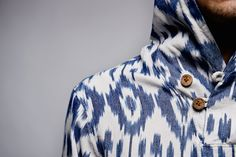 """A First Look At The 10.Deep 2014 Summer """"White Ikat"""" Baja Poncho"""