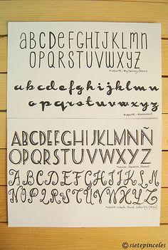 Aprender caligrafia 3_Handlettering