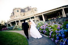 Becky Danny The Chanler At Cliffwalk Newport Ri Allegro Photography