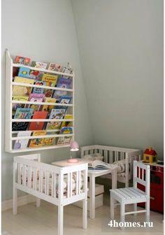Оригинальные полки для книг: украсим нашу квартиру!