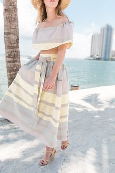 Spring Summer Two Piece Set
