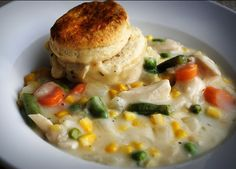 Two Crazy Cupcakes: Chicken Stew with Biscuits