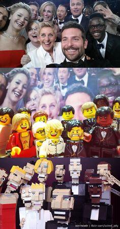 #LEGO #Oscars #Selfie WIN! :)