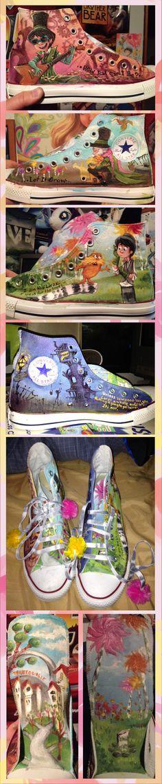 Lorax Converse by sharpie91.deviantart.com