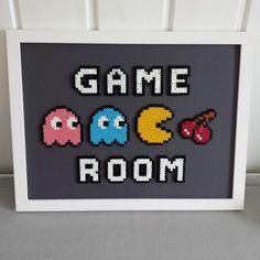 Game Room - Frame perler beads by sarahick