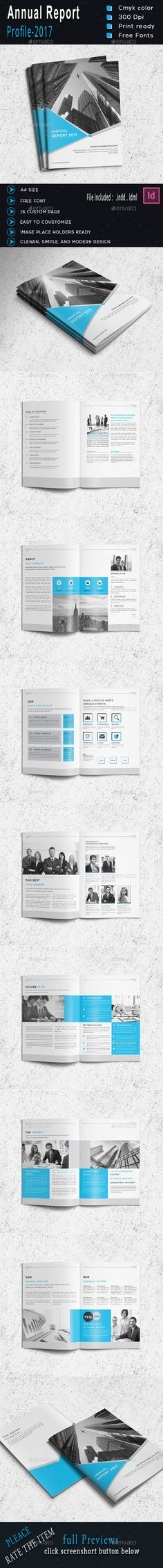 A5 Landscape Corporate Annual Report Http  www - business annual report template