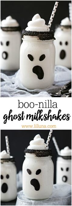 Boo-nilla Ghost Milk