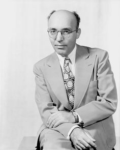 Potrair of Kurt Weill (with spectacles, tie, hands folded in lap) by Vandamm Studio, NY
