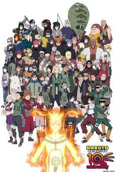 Naruto 10th Anniversary
