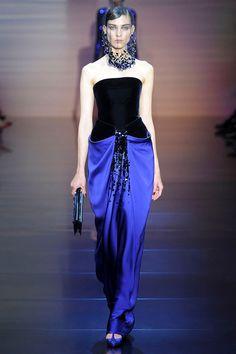 Giorgio Armani Privé Haute Couture Fall/Winter 2012-2013