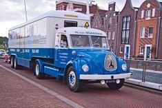 Magirus-Deutz F Jupiter 195 1970 + Kögel S 12 Z trailer 1963