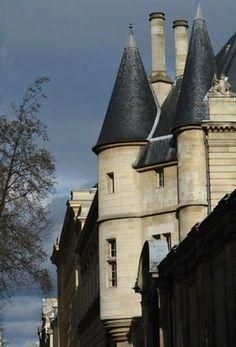Le Marais, Hôtel de Clisson, Private Mansion, 58 Rue des Archives, Paris III. constructed in 1380