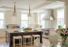 City Glamour - Kitchen - transitional - Kitchen - Dc Metro - Palindrome Design, LLC