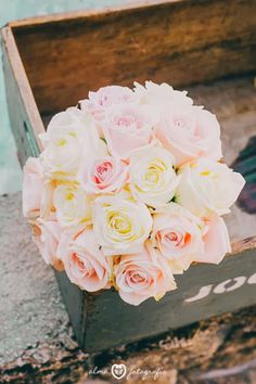 Blog de Organización de Bodas - Wedding Planner Madrid - Ramo Novia Rosas