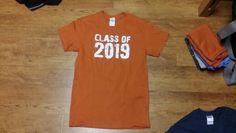 S burnt orange ufcu class of 2019 Class Of 2019, Burnt Orange, Mens Tops, T Shirt, Supreme T Shirt, Tee Shirt, Tee