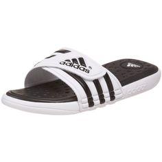 adidas Men's Adissage SC Slide Sandal ❤ liked on Polyvore featuring men's fashion, men's shoes, men's sandals, adidas men's sandals, mens shoes, adidas mens shoes and mens sandals