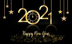 Happy New Year 2021 Wishes, Greetings, Messages, Quotes, Images, Gif Happy New Year Message, Happy New Year Quotes, Happy New Year Cards, Happy New Year Wishes, Happy New Year Greetings, Gold And Black Background, Gold Glitter Background, Glitter Text, Happy New Year Background